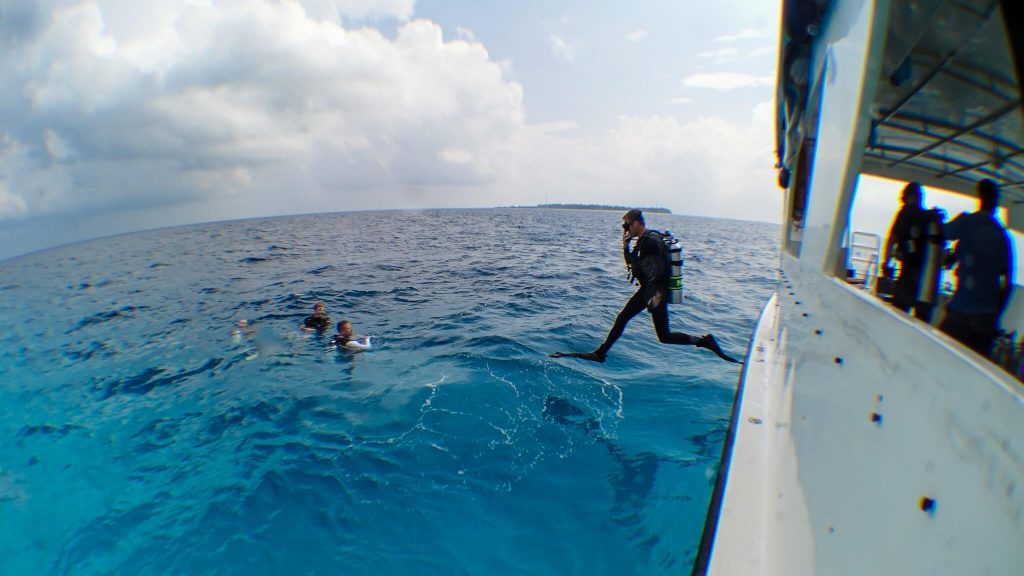 dive excursions at finolhu