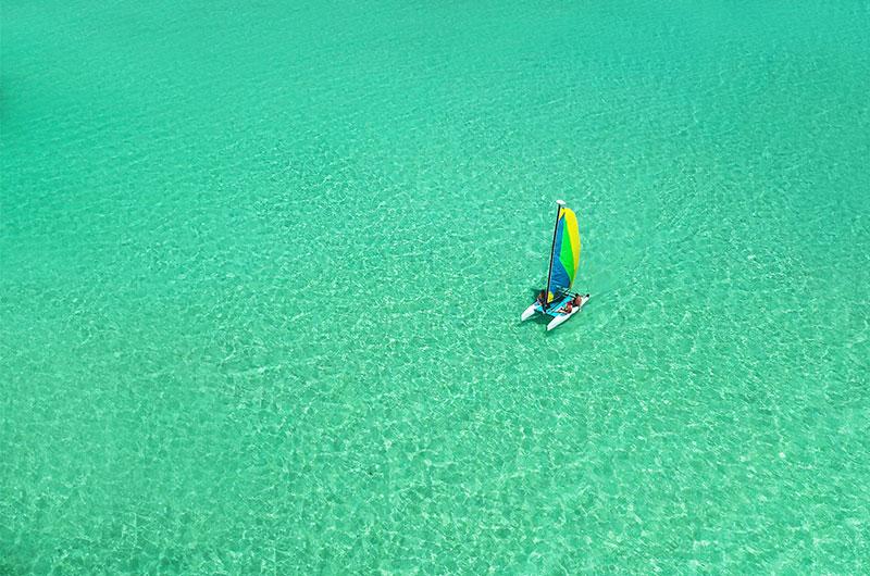 Finolhu watersports catamaran