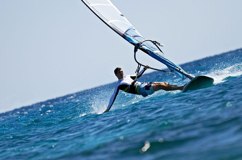 Finolhu Wassersport Windsurfen