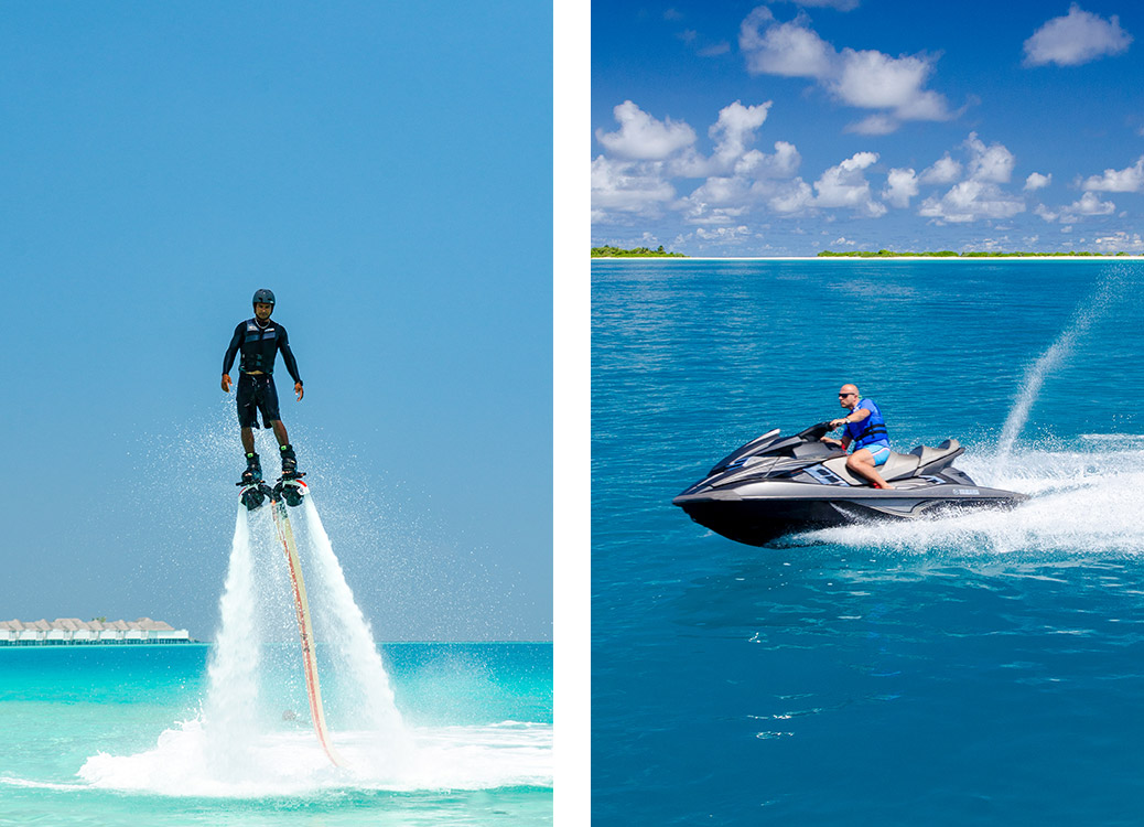 HUB watersports at Finolhu