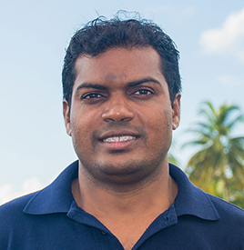 Ahmed from Dive Butler Finolhu