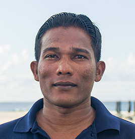 Hassan from Dive Butler Finolhu