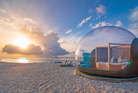 honeymoon beach tent