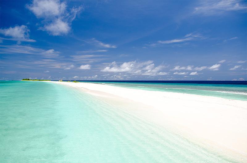 Sandbank auf Finolhu