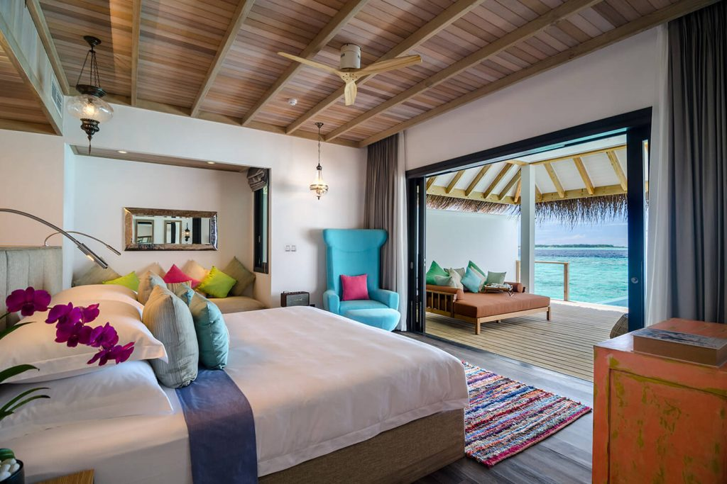 Ocean Pool Villa Livingroom