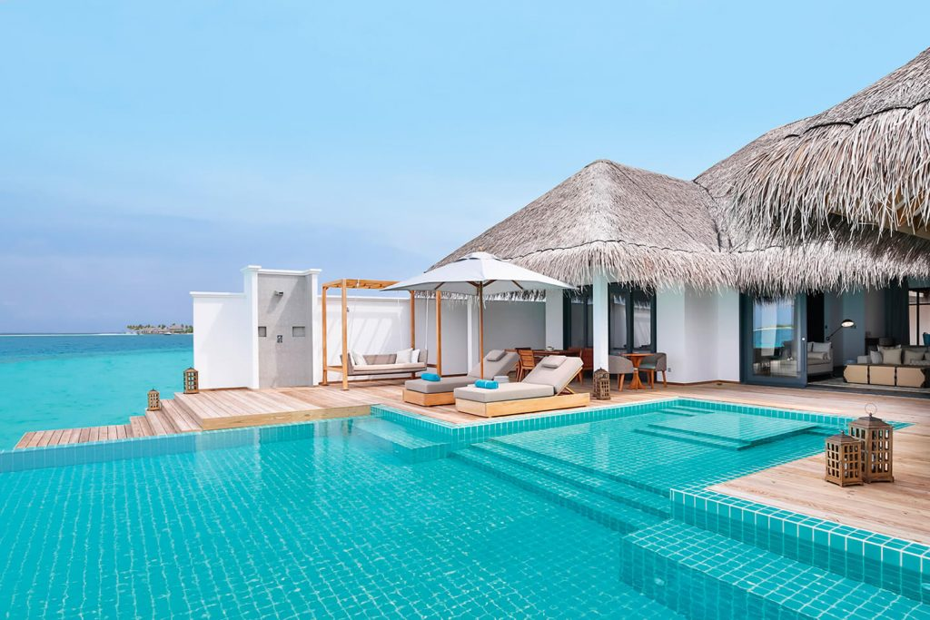 Ocean Villa with pool and two separated bedrooms