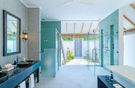 exclusive bathroom with loads of fab amenities