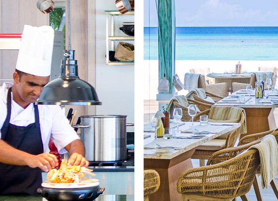 The Baahaa Grill at Luxury Resort Finolhu