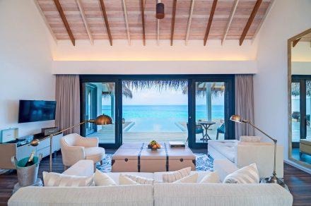 luxury interior in maldives villa