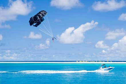 Thunderball parasailing