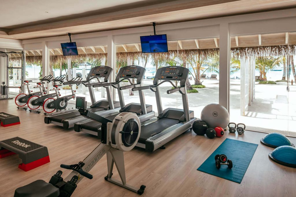 Finolhus indoor fitness area