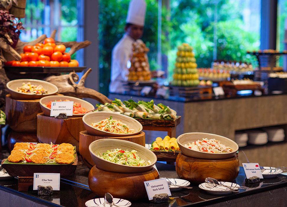 Dinner buffet at Baa Baa Beach Diner
