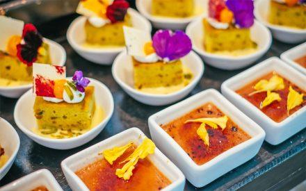 dessert buffet in finolhus restaurant