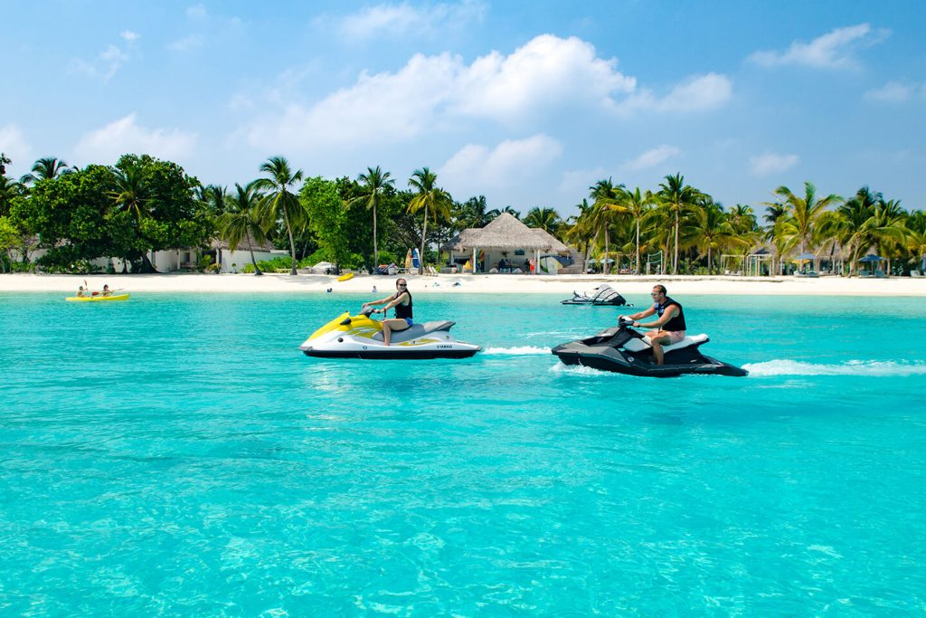 jet ski adventure at maldives