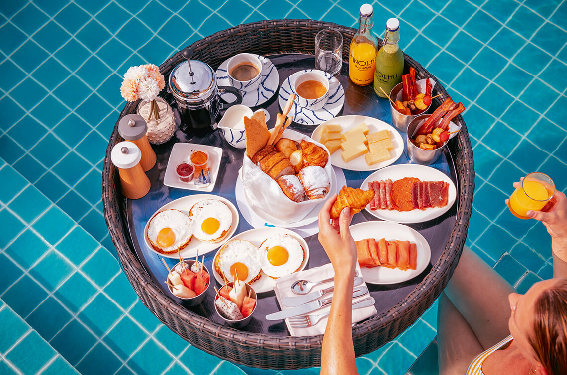 Begin your day in paradise with a breakfast like no other
