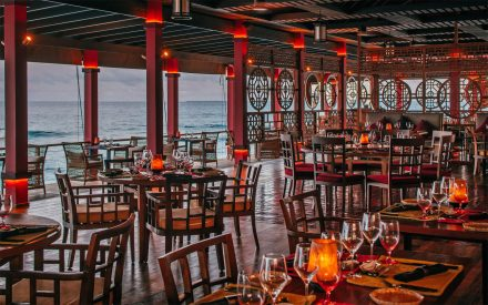 the fine-dining restaurant at finolhu