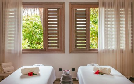 sala de tratamiento de masajes en finolhu