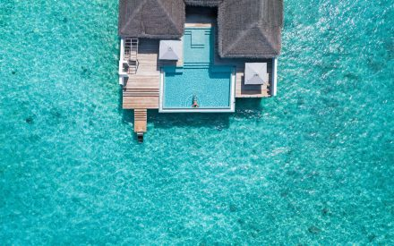The Rockstar Villa from above