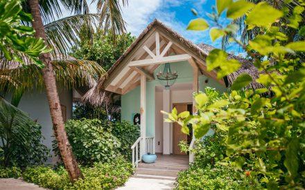 Spa and wellness treatment cottage on finolhu