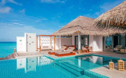 villa de cinco estrellas con piscina