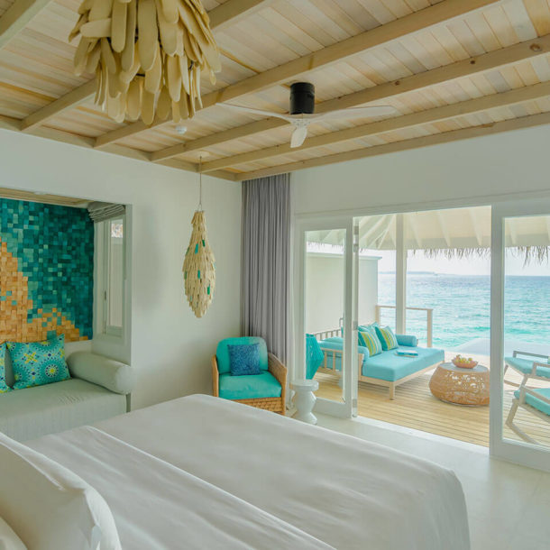 Ocean Pool Villa - Bedroom