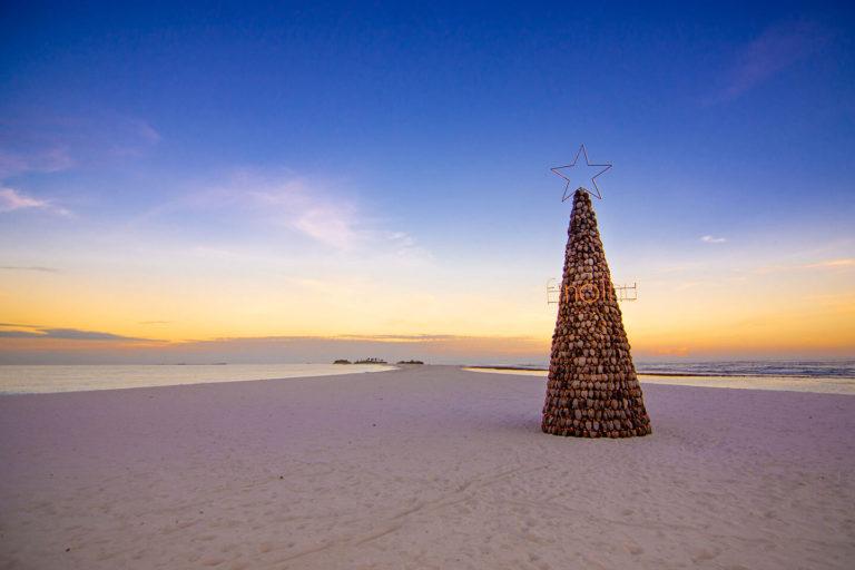 Luxus-Resort Malediven festliche Feiern
