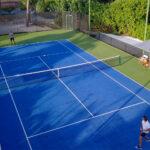 Seaside Finolhu asociación con la empresa LUX Tennis<br><br>