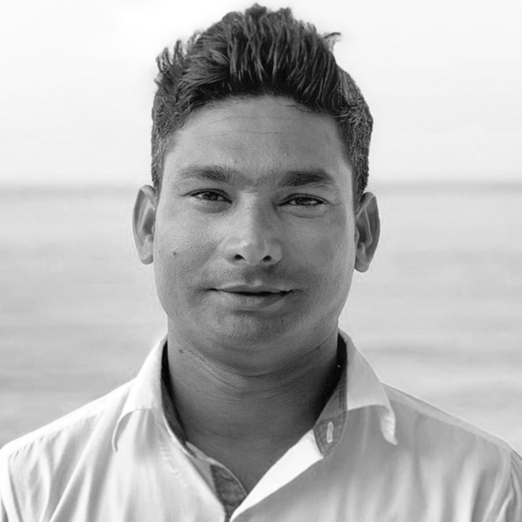 Toby, Water Sports Manager on Finolhu