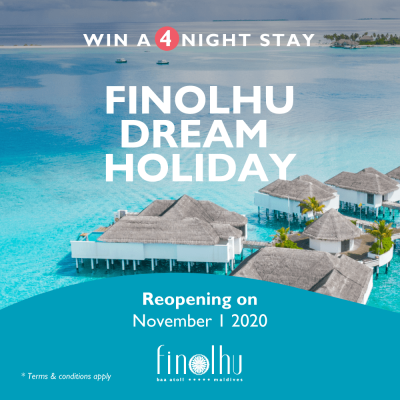 Win a Finolhu dream holiday